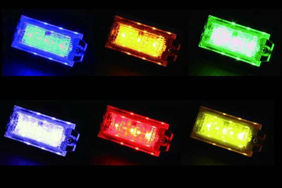 LEDランプ搭載